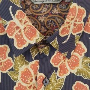 Tommy Bahama Shirts - Tommy Bahama Paisley Premier Button Down Shirt